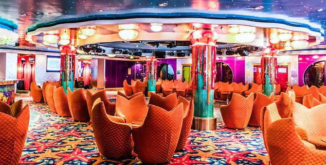 Norwegian Jade, Cruise Ship, Medusa Lounge