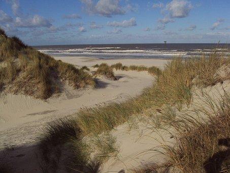 Dunes, Ameland, Sand