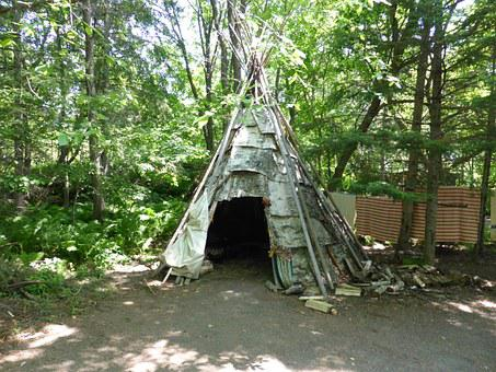 Wigwam, Shelter, First Nations, Traditional, Dwelling