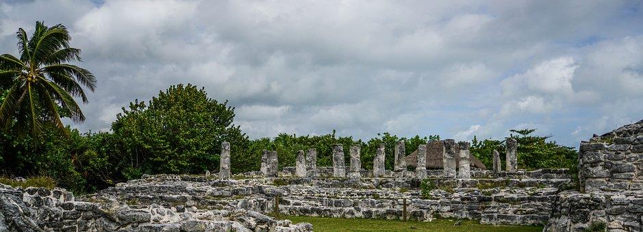 El Ray, Mexican Ruins, Cancun, Mexico, Ancient, Culture