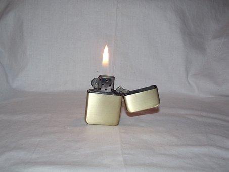 Flame, Lighter, Petrol, Fire, Ignition, Ignite, Flint