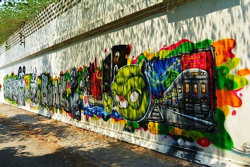 Graffiti, Wall Art, Wall, Urban, Youth, Young, Culture