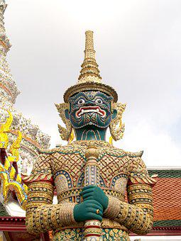 Bangkok, Grand, Wat, Buddha, Emerald, Royal, Building