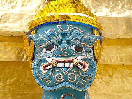 Bangkok, Grand, Wat, Buddha, Emerald, Royal, Building