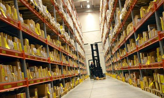 Logistics, Hall, Shelf, Forklift, Carry, Profession