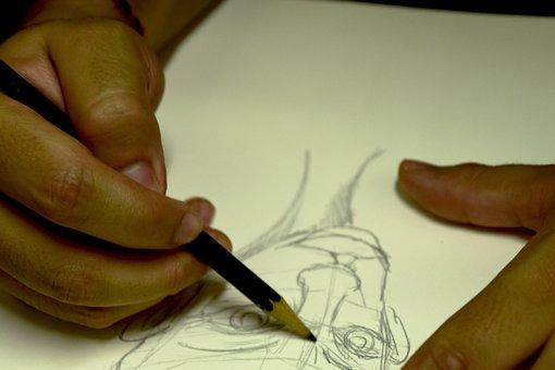 Drawing, Sketch, Art, Design, Illustration, Pencil