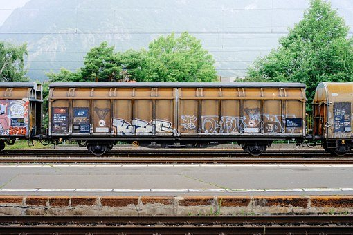 Train, Coal, Industrial, Steel, Iron, Load, Carry