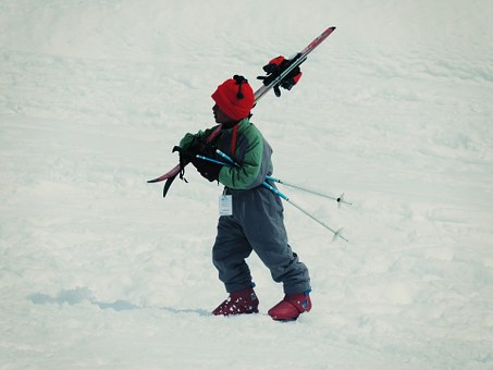 Skiing, Child, Kid, Snow, Winter, Ski, Mountain, Cold