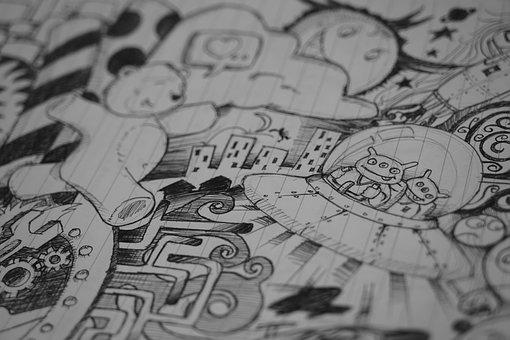 Art, Creative, Creativity, Drawing, Hobby, Leisure
