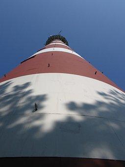Lighthouse, Ameland, Bornrif, Netherlands, Steel, Iron
