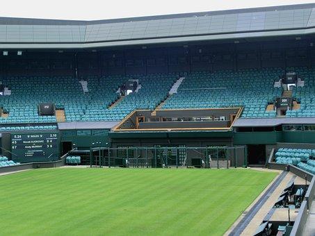 Wimbeldon, London, Stadium, Green, Vip, Lounge, Tennis