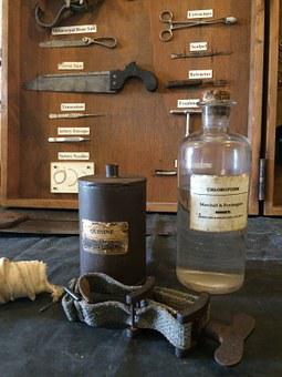 Antique, Medicine, Vintage, Medical, Anatomy, Bottle