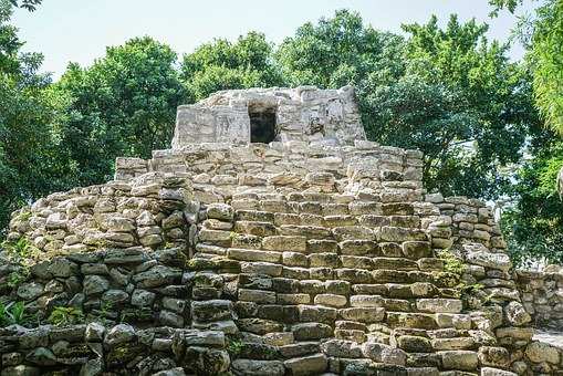 Mexican Ruin, Cancun, Xcaret, Mexico, Ancient, Travel