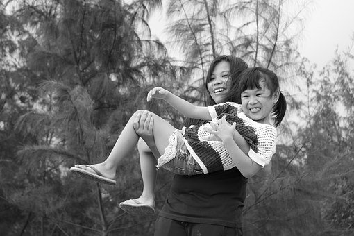 Mother, Child, Daughter, Smile, Family, Fun
