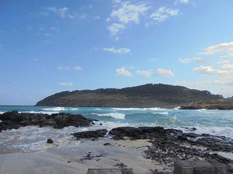 Jeju, Nature, Jeju Island, Olle Gill, Travel, Sea