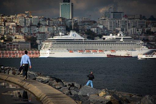 Cruise Ship, Quay, Ship, Boat, Port, Get Around, Travel