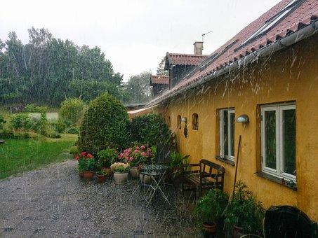 Hail, Astrup, Thunder, Rain, Storm