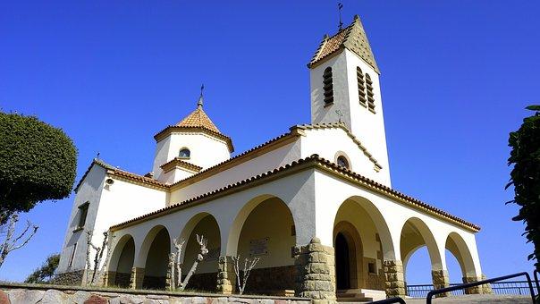 Lourdes Shrine, Cult Place, Religion, Arcades, Church
