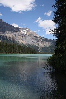 Lake, Emerald, Canada, Rockies