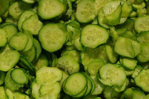 Cucumbers, Salad, Mizeria, Vegetables, Preparations
