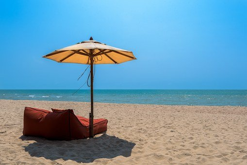Thailand, Beach, Sand, Sun, Water, Relaxation, Shore