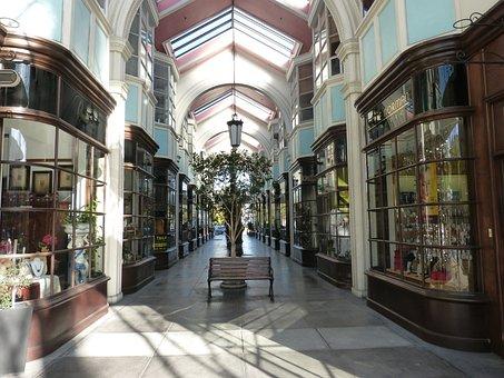 Shopping Arcade, Mall, Shopping, Luxury, Commerce