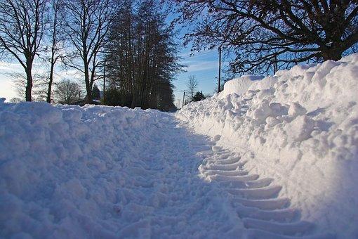 Snow, Road, Traffic, Traffic Delays, Drifting Snow