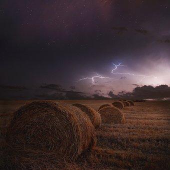 Storm, Thunderstorm, Lightning, Weather, Sky, Nature