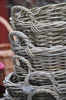 Baskets, Woven, Reputed, Structure, Wattle, Wicker
