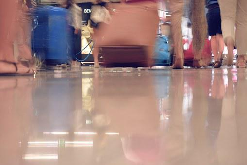 Airport, Trip, Suitcases, Movement, Flight, Holiday