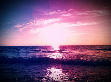 Sunset, Dawn, Cancun, The Light Of The Sun, Sun