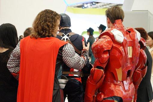Asia, China, Super Hero, Figure, Iron Man