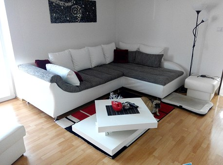 Living-room, Room, The Interior Of The, Panorama