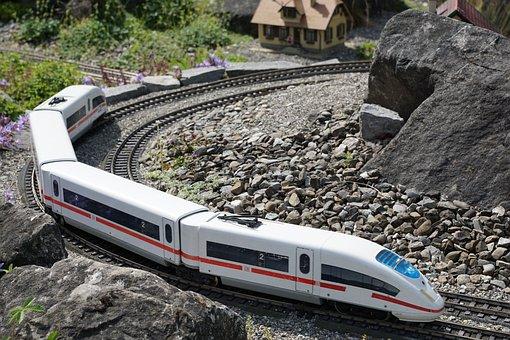 Miniature, Railway, Nature, Train, Transport, Seemed