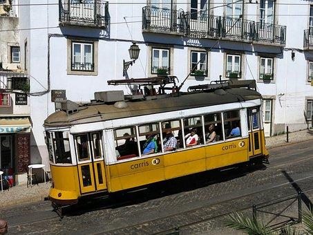 Lisbon, Historic Center, Tram, Transport