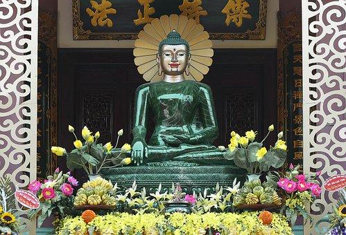 Buddha, Cultural, Religion, Vietnam, Yen Phu Temple