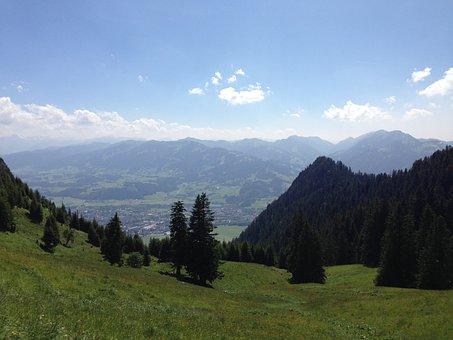 Allgäu, Alpine, Castle Hill, Hoernle, Allgäu Alps