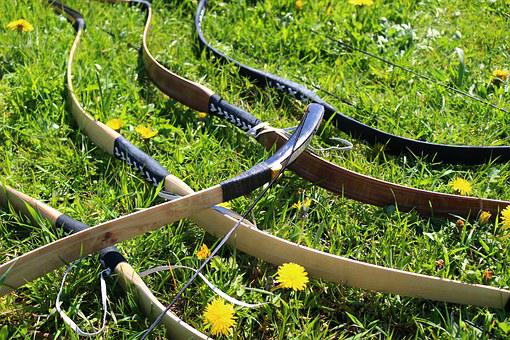 Arch, Rider Arch, Archery, Traditional Bow, Weapon