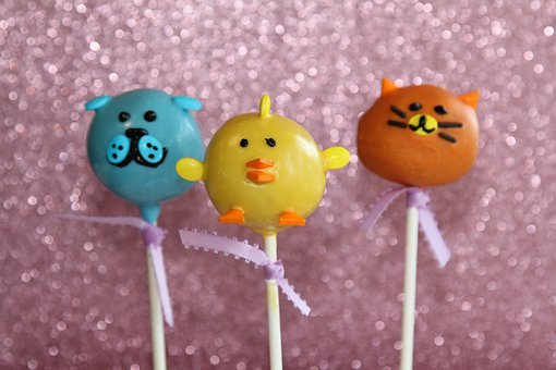 Cake Pops, Pop, Sweet, Dessert, Animals, Chicken, Cat