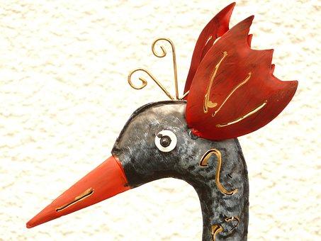 Peacock, Chicken, Hahn, Hen, Bird, Colorful, Fig, Head