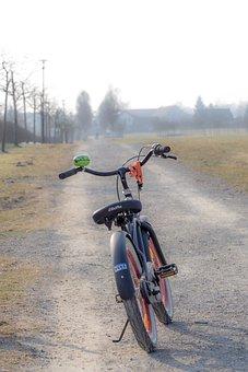 Bike, Away, Sport, Parking, Cycling, Mountain Bike