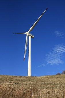 Wind Power Generator, Daegwallyeong, Wind