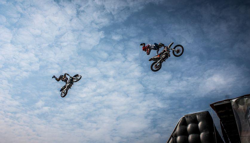 Biker, Motorcycle, Artists, Action, Dirt, Extreme, Bike