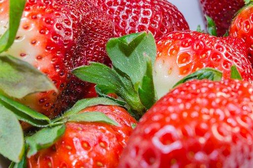Strawberries, Fruit, Tasty, Red, Sweet, Food, Delicious