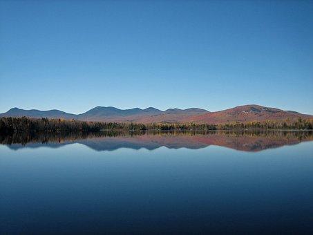 New Hampshire, Jerico Lake, Lake, Water, Blue