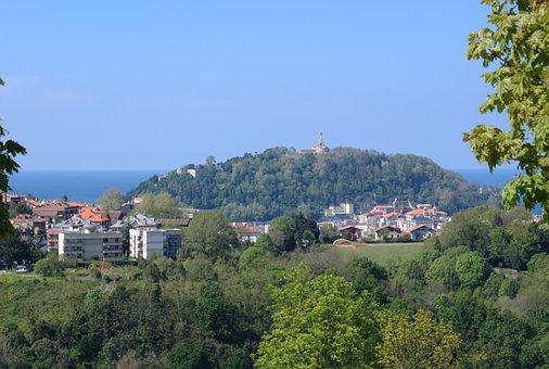 Urgull, San Sebastian, Landscape, Landscape Spring