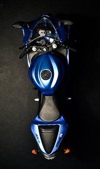Bike, Kawasaki, Ninja, Blue, Motorbike, Motorcycle, New