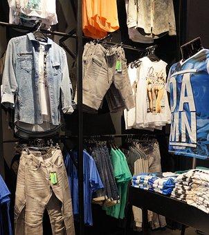 Fashion Store, Clothes, Shirt, Pants, Trousers, Shop