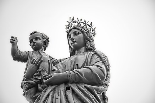 Statue, Virgin, Puy In Velay, France