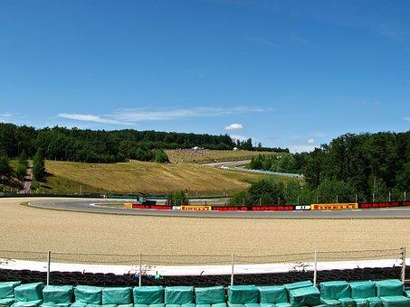 Track, Race Track, Brno, Circuit, Racing Day